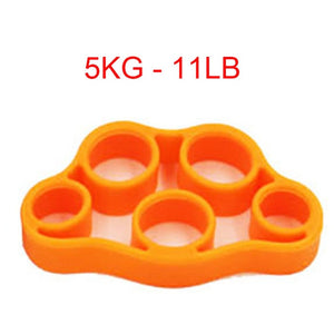 Hand Gripper Silicone Finger Expander Exercise Hand Grip Wrist Strength Trainer Finger Exerciser Resistance Bands Fitness