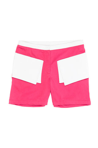 Folded Book Shorts - Pink