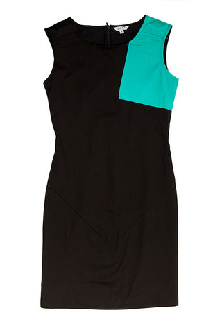 Wonder Sash Dress - Black