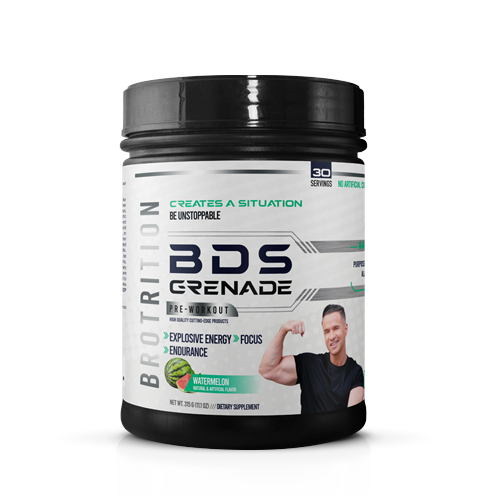 BDS Grenade Pre-workout - Blue Raspberry