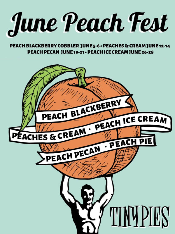Peach Fest is Back beginning June! Fresh, local Hill Country peaches.