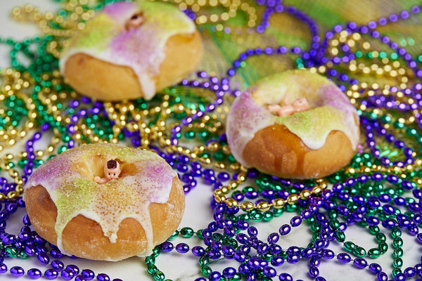 We're Celebrating Fat Tuesday with Tiny King Cakes