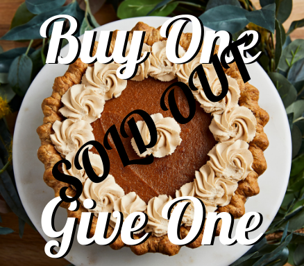 Buy One Give One Not so Tiny Pumpkin Pie