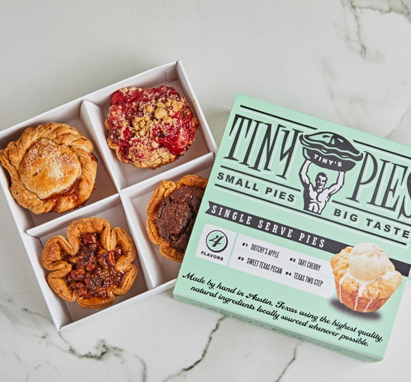 Tiny Pies Four Pack Gift Box