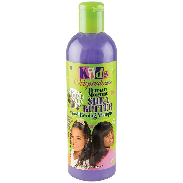 Africa's Best Kids Shea Butter Conditioning Shampoo  12 oz.