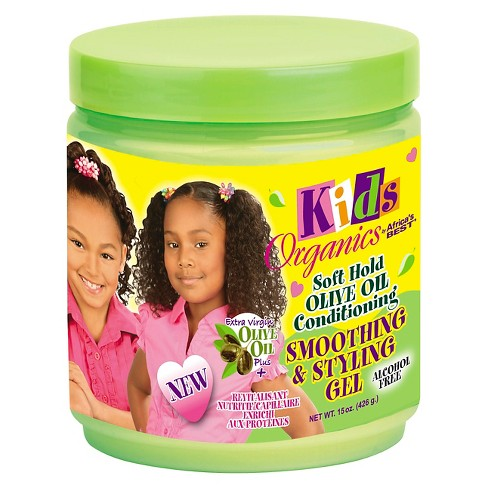 Africa's Best Kids Smoothing & Styling Gel  15 oz.
