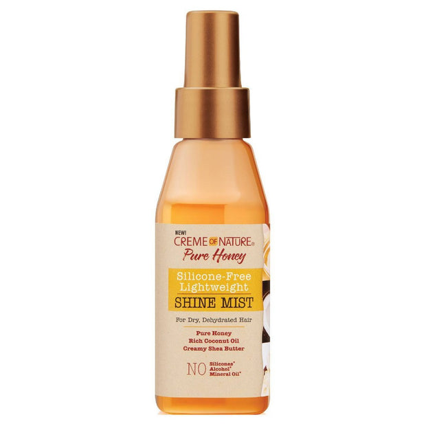 CREME OF NATURE PURE HONEY SILICONE-FREE LIGHTWEIGHT SHINE MIST 4 OZ