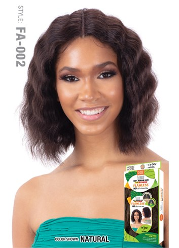 Nude Flawless HD 100% Human Hair Lace Front Wig – FA-002