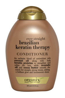 OGX BRAZILIAN KERATIN CONDITIONER 13 OZ