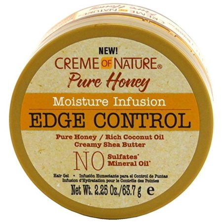 CREME OF NATURE PURE HONEY MOISTURE INFUSION EDGE CONTROL 2.25OZ