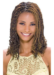 Jamaican Twist Braid/4packs. Model Model. (Available Color# 1, 1B, 27, 30, 350)