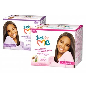 Just For Me No Lye Relaxer Kit