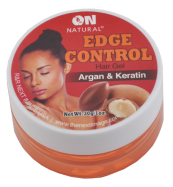 On Natural Edge Control Argan & Keratin Hair Gel 1 oz / 2.3 oz