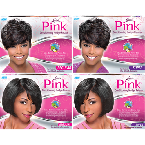 Pink Conditioning No-Lye Relaxer System with Shea Butter & Prota-Silk