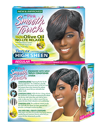 Luster's Pink Smooth Touch New Growth Relaxer Kit  Regular / Super