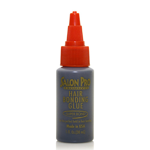 Salon Pro Exclusive Hair Bonding Glue  1 oz/ 2 oz/ 4 oz - Black