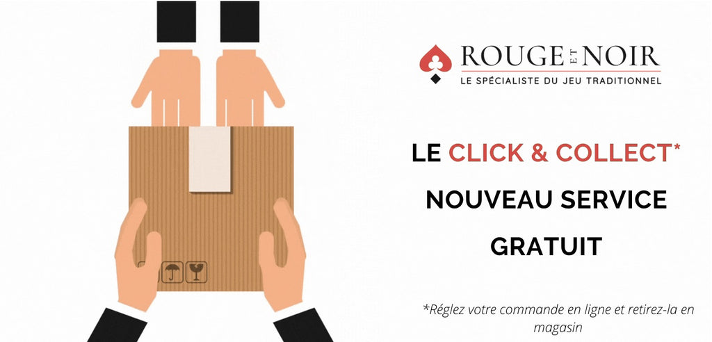 Click and Collect gratuit au magasin rue Vavin