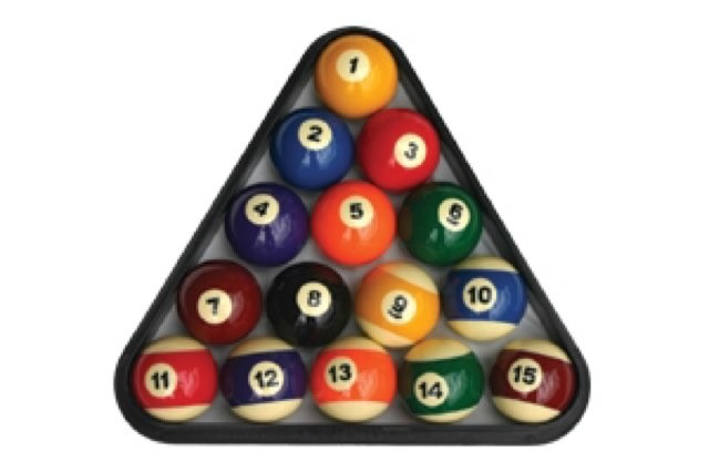Boules de billard US - 51mm