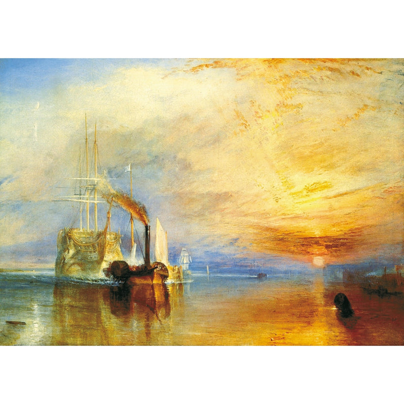 Puzzle Bois Wentworth - 250 pièces - The fighting Temeraire -Turner