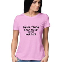 Load image into Gallery viewer, Tauba Tauba Half Sleeve Women's T-Shirt