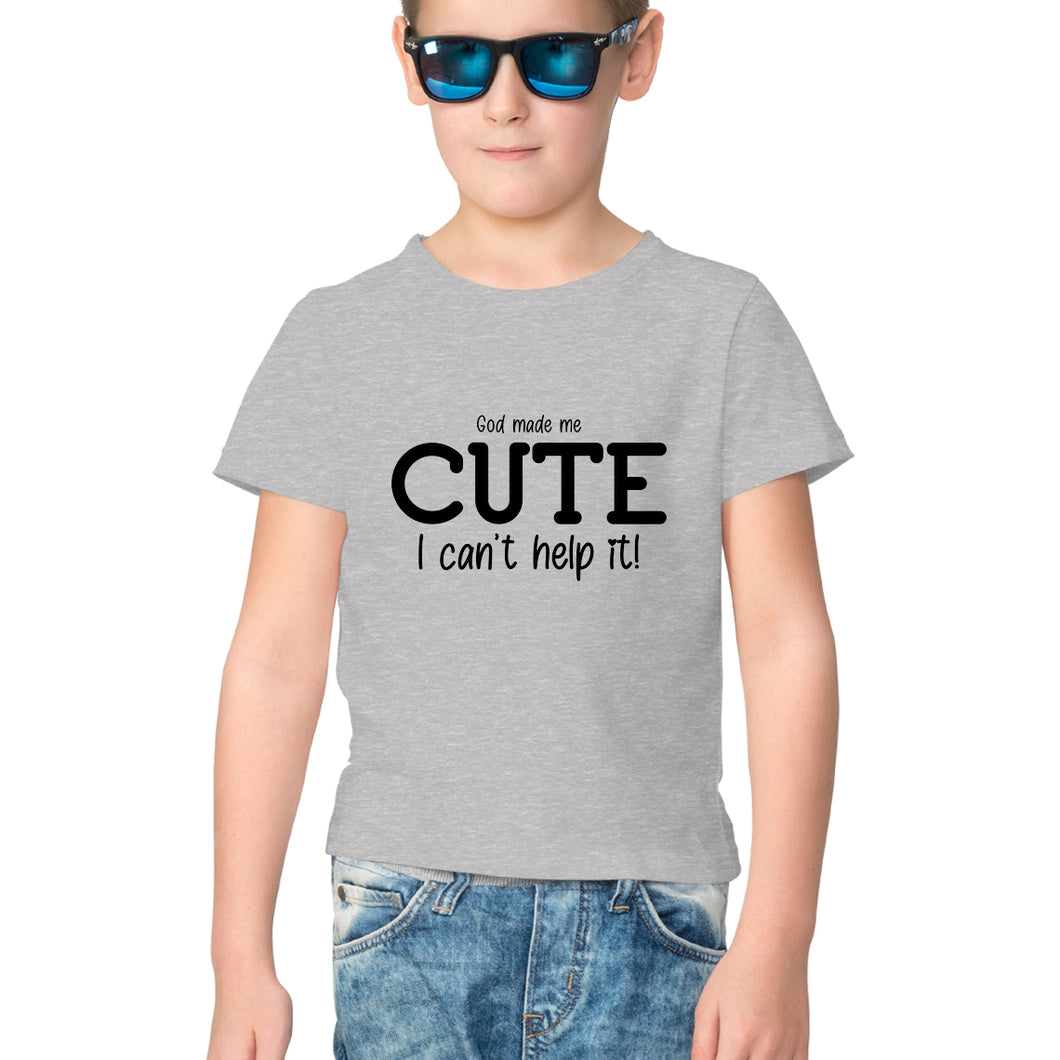 Cute Kids Half Sleeve T-Shirt