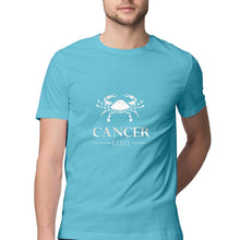 Load image into Gallery viewer, Cancer Zodiac Sign Half Sleeve Men's T-Shirt