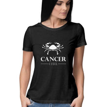Load image into Gallery viewer, Cancer Zodiac Sign Half Sleeve Women's T-Shirt