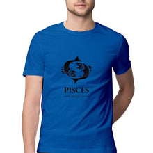 Load image into Gallery viewer, Pisces Zodiac Sign Half Sleeve Men's T-Shirt