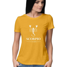Load image into Gallery viewer, Scorpio Zodiac Sign Half Sleeve Women's T-Shirt