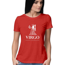 Load image into Gallery viewer, Virgo Zodiac Sign Half Sleeve Women's T-Shirt