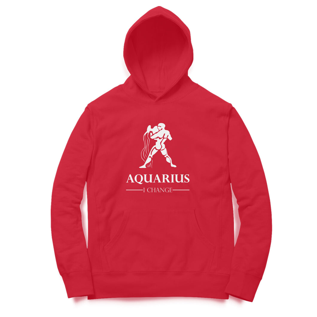 Aquarius Zodiac Sign Hoodie Sweatshirt