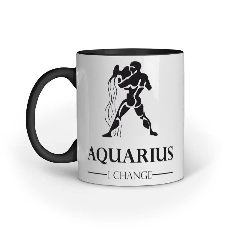 Aquarius Zodiac Sign Mug