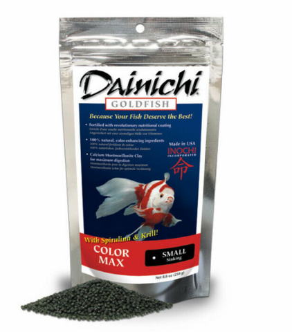 Dainichi Goldfish Color Max Small Sinking Pellets 250g