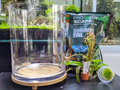 Planted Shrimp Aquarium Kit