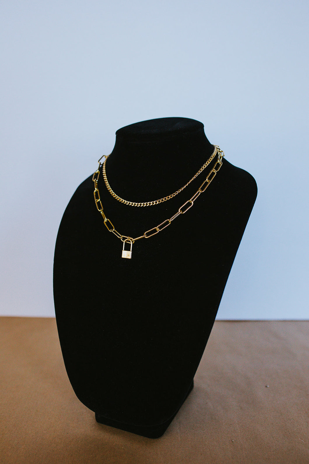 The Erica: Gold Filled Necklace