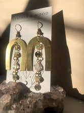 Load image into Gallery viewer, Moonstone Dangle Arches