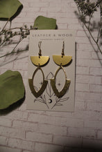 Load image into Gallery viewer, Boho Semi Circle Earrings