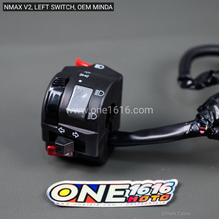 Left Switch NMAX V2, V2.1 (MINDA)