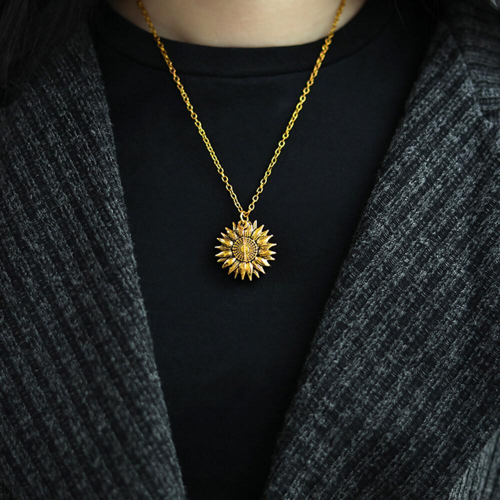 Sunflower Necklace™