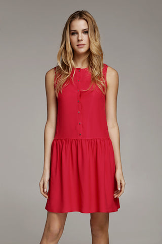 Dress - Red Florence