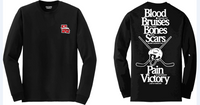 Blood & Bruises Long Sleeve Tee
