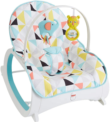 Infant-to-Toddler Rocker - Geo-Triangles