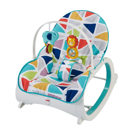 Infant-to-Toddler Rocker - Triangles