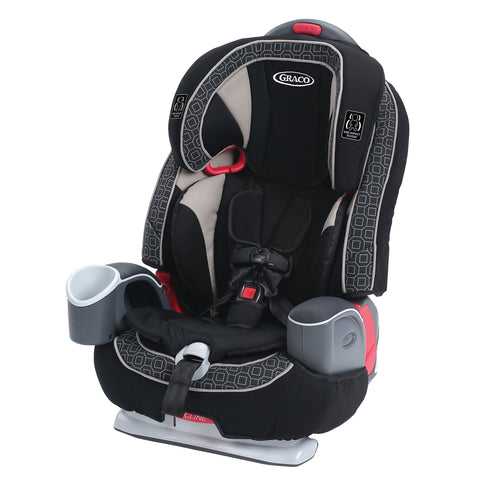 3- in-1 Booster Seat - Black/White