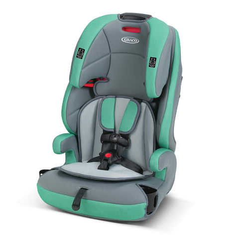 3-in-1 Booster Seat - Green/Gray