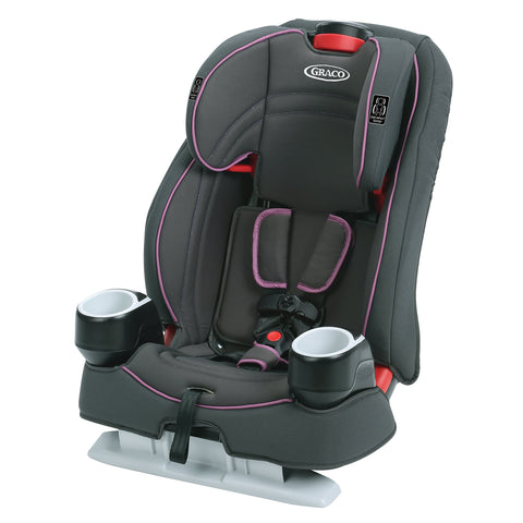 2-in-1 Booster Seat - Pink/Black