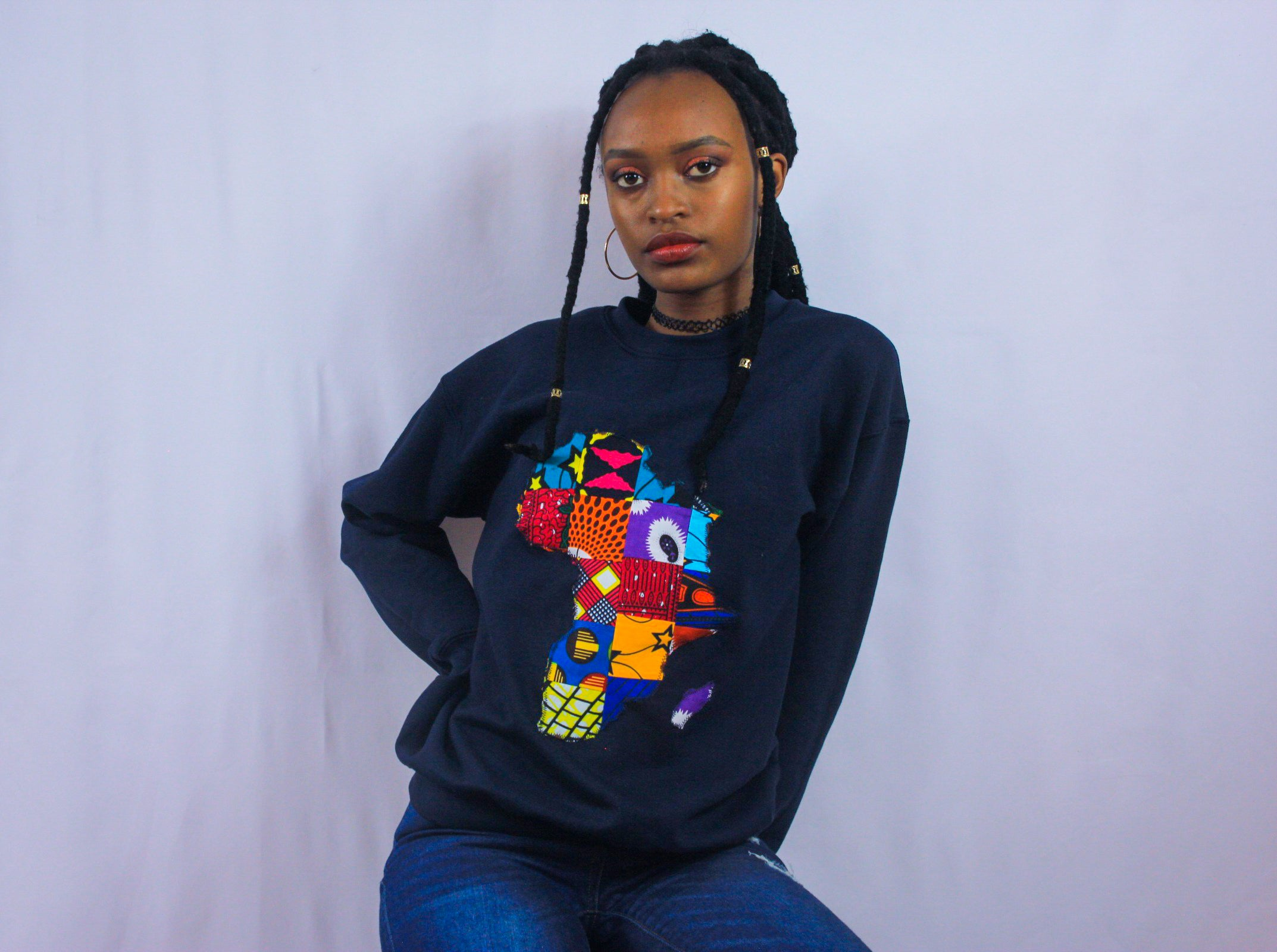 African Map Sweatshirt (UNISEX)