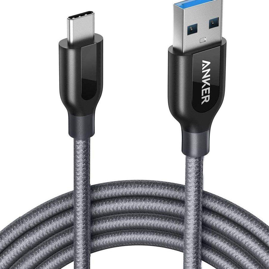 Powerline+ 0.9m USB C Kabel auf USB 3.0 A
