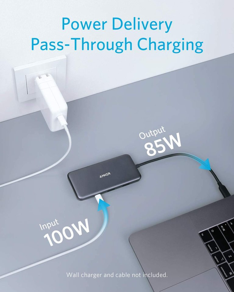 PowerExpand + 7-in-1 USB-C hub adapter