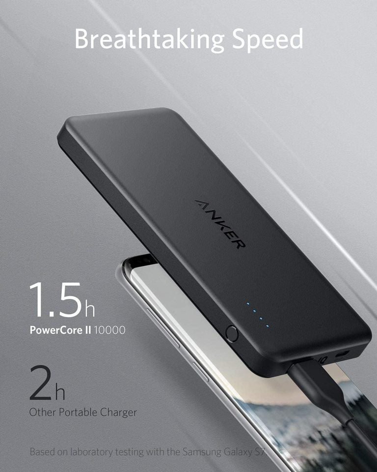 PowerCore II Slim 10000mAh